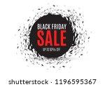 vector abstract background...   Shutterstock .eps vector #1196595367