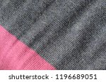 knitted fabric texture and... | Shutterstock . vector #1196689051