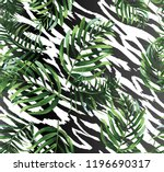 seamless background with... | Shutterstock .eps vector #1196690317