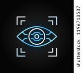 ai eye vector linear colored...   Shutterstock .eps vector #1196713537