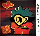 monster | Shutterstock .eps vector #119671849