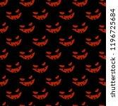 seamless decorative vector... | Shutterstock .eps vector #1196725684