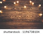 old wooden planks with... | Shutterstock . vector #1196738104