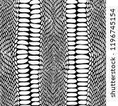 snake skin scales texture.... | Shutterstock .eps vector #1196745154