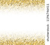 gold glitter particles on a...   Shutterstock .eps vector #1196746411