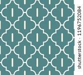 oriental traditional pattern.... | Shutterstock .eps vector #1196752084