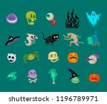 vector icon and element... | Shutterstock .eps vector #1196789971