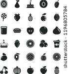 solid black flat icon set cake...   Shutterstock .eps vector #1196805784