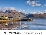 Corpach and Ben Nevis, Fort William, Highland, Scotland, UK