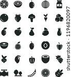 solid black flat icon set jar...   Shutterstock .eps vector #1196820097
