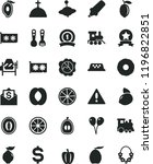 solid black flat icon set... | Shutterstock .eps vector #1196822851