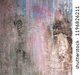 brown  beige and pink damaged... | Shutterstock . vector #1196826211
