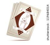 vector illustration of magician ... | Shutterstock .eps vector #119684014