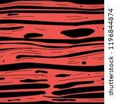 hand drawn rad slime  blood ... | Shutterstock .eps vector #1196844874