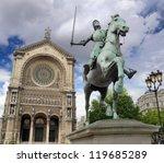 Paris   July 22  Statue Of Joa...