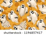 halloween seamless pattern.... | Shutterstock . vector #1196857417