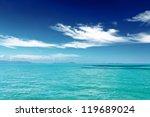 beautiful tropical sea under... | Shutterstock . vector #119689024