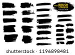 large set different grunge... | Shutterstock .eps vector #1196898481