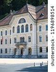 vaduz  liechtenstein  16th... | Shutterstock . vector #1196898514