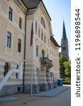 vaduz  liechtenstein  16th... | Shutterstock . vector #1196898544