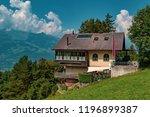 vaduz.  liechtenstein  20th... | Shutterstock . vector #1196899387