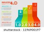 infographics industrial... | Shutterstock .eps vector #1196900197