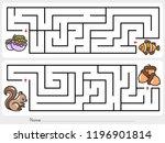 maze game  help clownfish find...   Shutterstock .eps vector #1196901814