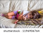 afternoon nap baby napping...   Shutterstock . vector #1196906764