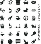 solid black flat icon set image ... | Shutterstock .eps vector #1196911774