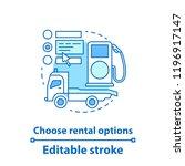 car rental properties concept... | Shutterstock .eps vector #1196917147