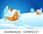 Vector Illustration Of Cottage...