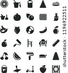 solid black flat icon set paint ... | Shutterstock .eps vector #1196922511