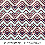 beading design  tribal design ... | Shutterstock .eps vector #1196934697