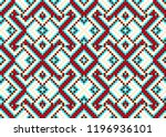 beading design  tribal design ... | Shutterstock .eps vector #1196936101