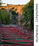 Knaresborough Boats And Viaduct