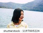 pokhara nepal october 6  2018... | Shutterstock . vector #1197005224