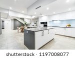 large kitchen and dining areas... | Shutterstock . vector #1197008077
