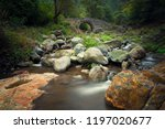 old stone bridge  armenia | Shutterstock . vector #1197020677