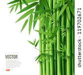 bamboo vector illustration | Shutterstock .eps vector #119702671