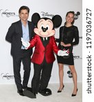 Small photo of LOS ANGELES - OCT 6: John Stamos, Mickey Mouse, Caitlin McHugh at the Mickey's 90th Spectacular Taping at the Shrine Auditorium on October 6, 2018 in Los Angeles, CA