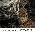 4x4 travel trekking. bottom... | Shutterstock . vector #1197047527