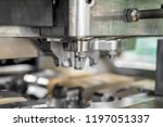 high precision die mold for... | Shutterstock . vector #1197051337