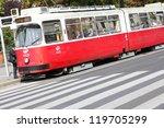 vienna   september 9  commuters ...   Shutterstock . vector #119705299