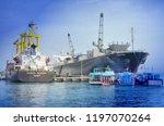 nha trang  vietnam october 3 ... | Shutterstock . vector #1197070264