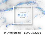 white marble with blue texture  ...   Shutterstock .eps vector #1197082291