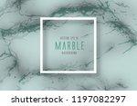 green marble texture  vector...   Shutterstock .eps vector #1197082297