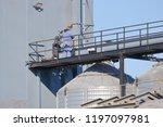 specially skilled maintenance...   Shutterstock . vector #1197097981