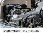 the image of an engine | Shutterstock . vector #1197100687