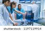 diverse team of medical... | Shutterstock . vector #1197119914