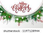 vector illustration of greeting ... | Shutterstock .eps vector #1197128944